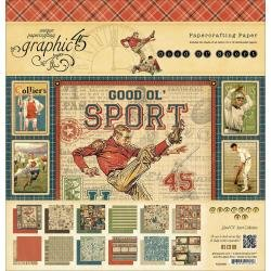 12X12     -GOOD SPORT PAPER PAD - CLEARANCE - NO FURTHER DISCOUNTS / NO RETURNS