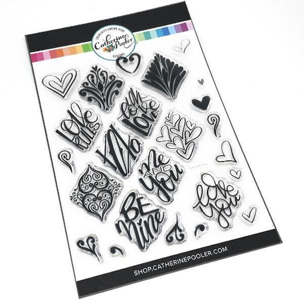 Say it with Love Stamp Set 6x8