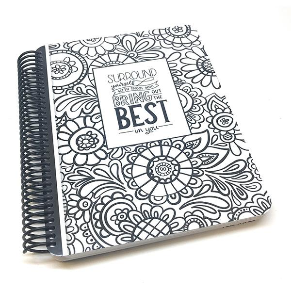 Doodle Garden Canvo Journal**