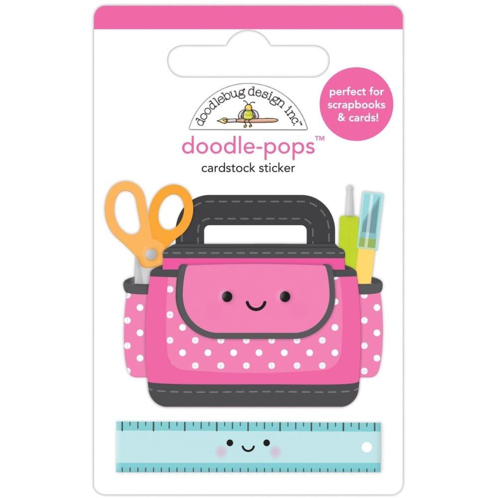 Doodlebug Doodle-Pops 3D Stickers-Craft Caddy