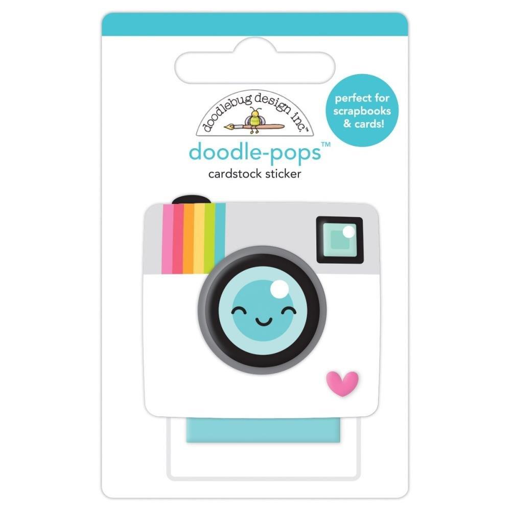 Doodlebug Doodle-Pops 3D Stickers-Oh Snap