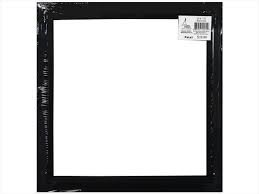 12X12 BLACK OPEN FRAME