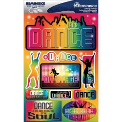 DANCE     -SIGNATURE 3D STICKER