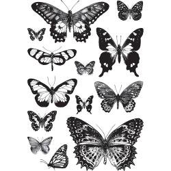 BUTTERFLY -CLING STAMP