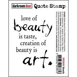 BEAUTY    -CLING STAMP