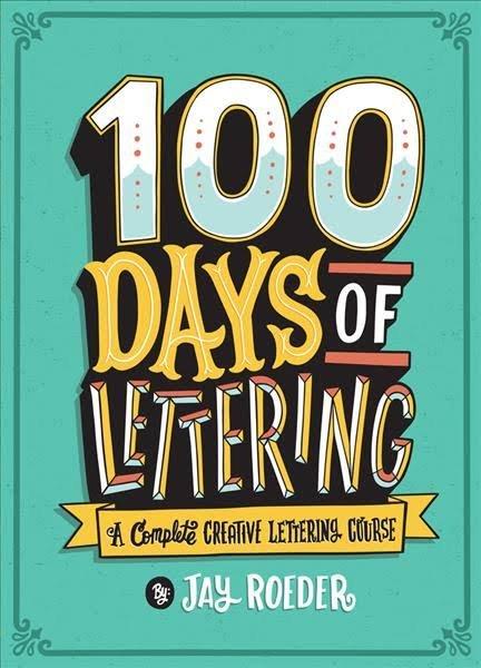 Lark 100 Days Of Lettering Book