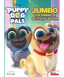 Jumbo Coloring & Activity Book Puppy Dog Pals