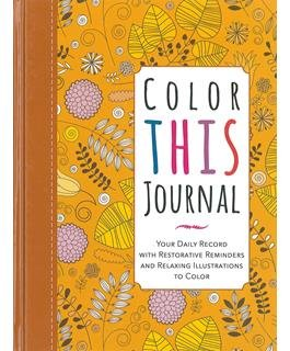 Color This Journal Book