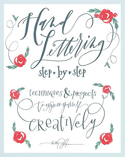 Hand Lettering Step by Step Book