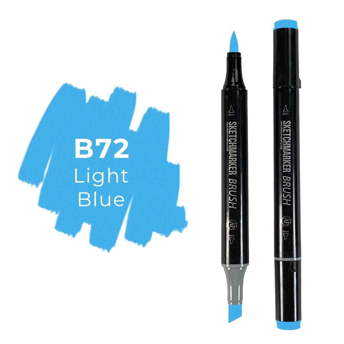 SKETCHMARKER BRUSH PRO Color: Light Blue