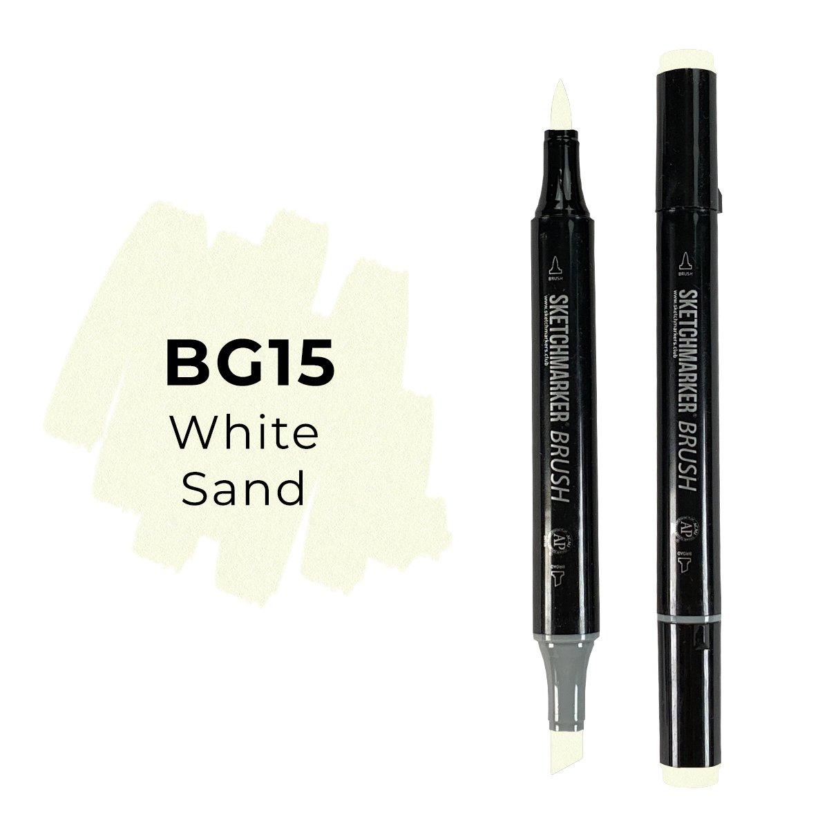 SKETCHMARKER BRUSH PRO Color: White Sand
