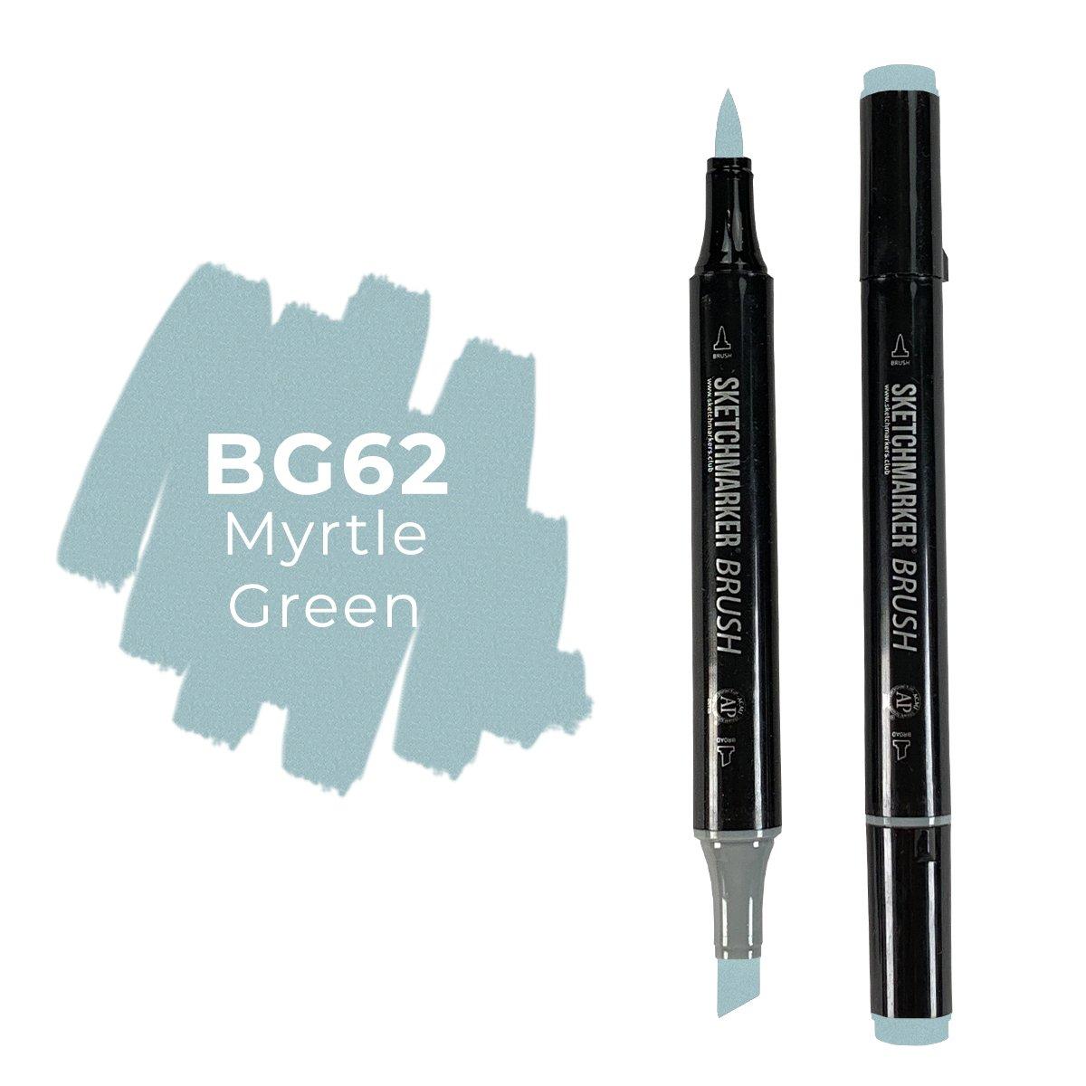 SKETCHMARKER BRUSH PRO Color: Myrtle Green