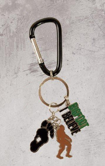 Keychain, Bigfoot Charms