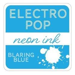 Neon Ink Pad, Electro Pop - Blaring Blue