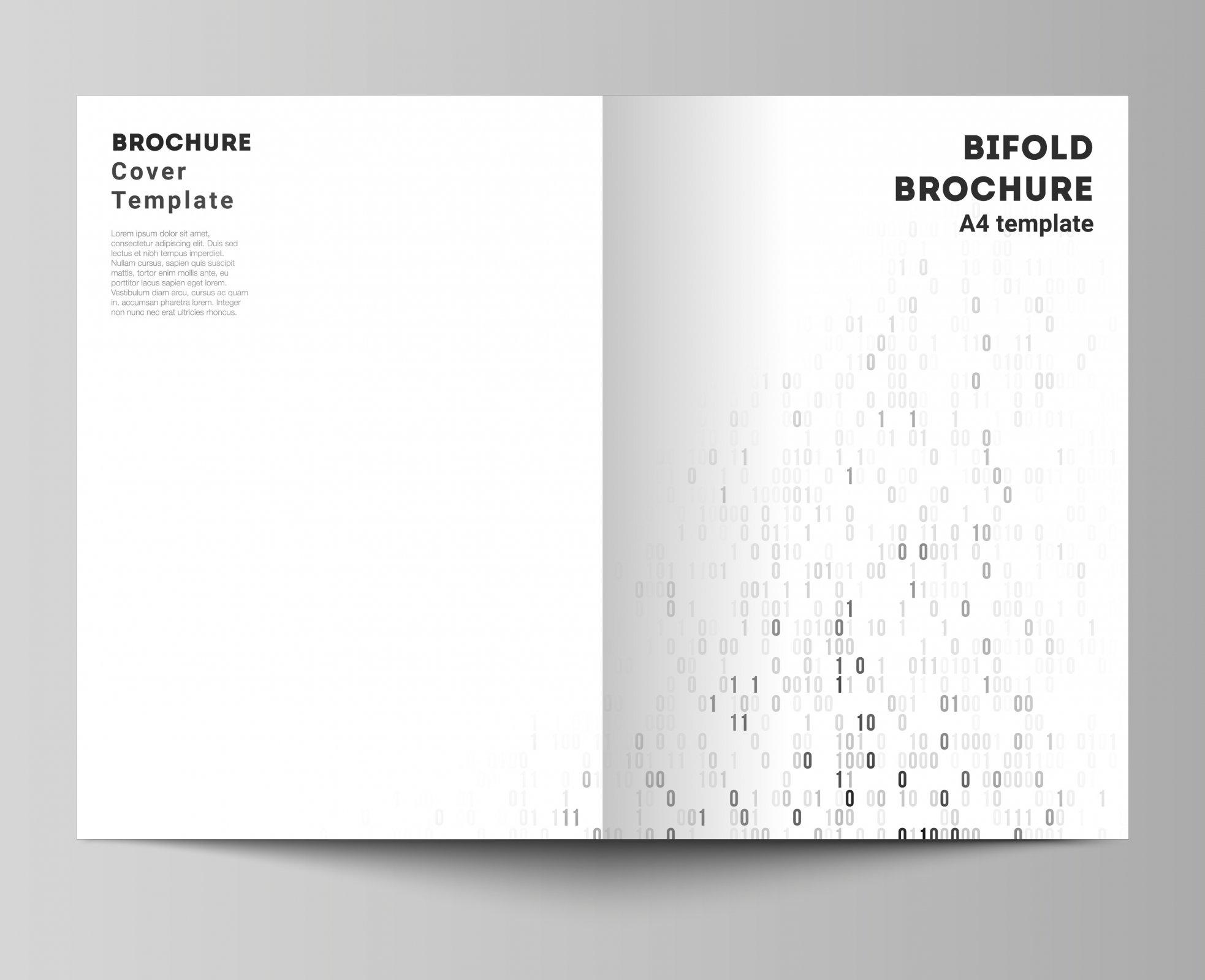 Brochures/Programs Single 8.5x11 Half Fold Black Printing Options (no bleed) Machine or Hand Folding