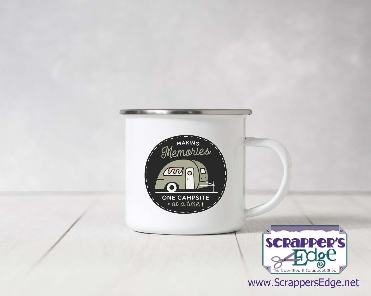 Personalized Camp Mug, Stainless Steel, 11 oz.