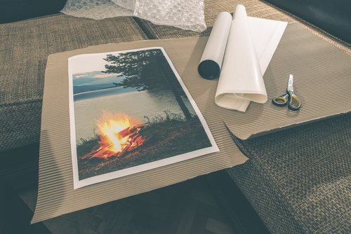 Wide Format Canvas Print on Water Resistant Matte Canvas