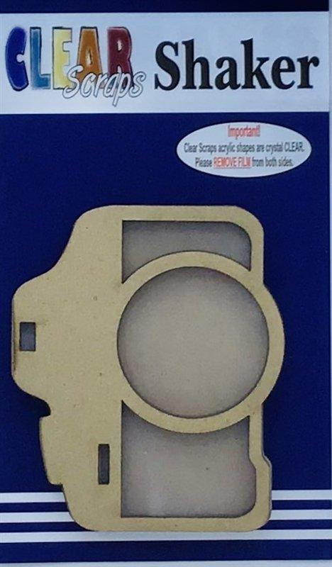 Clear Scraps Camera Shaker