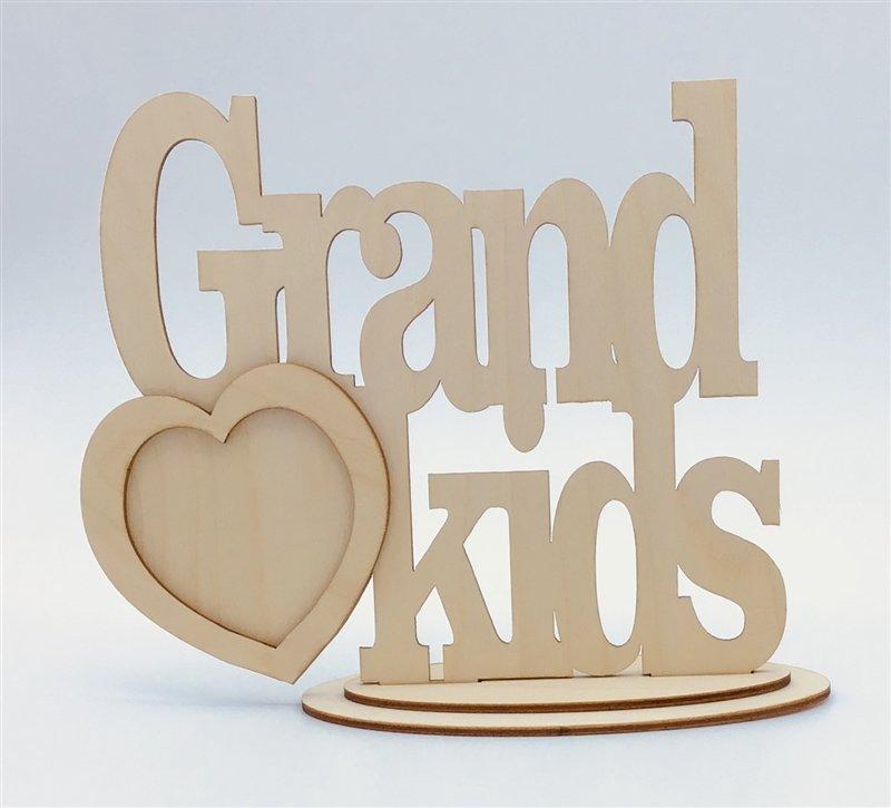 Clear Scraps Desktop Frame - Grandkids
