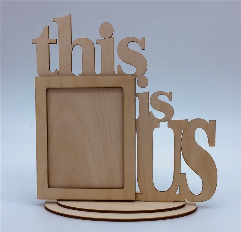 Clear Scraps Desktop Frame - This is Us