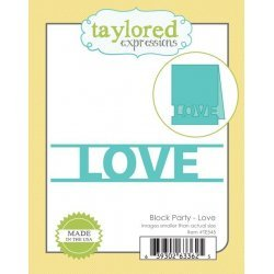 BLOCK LOVE-TAYLORED EX DIE
