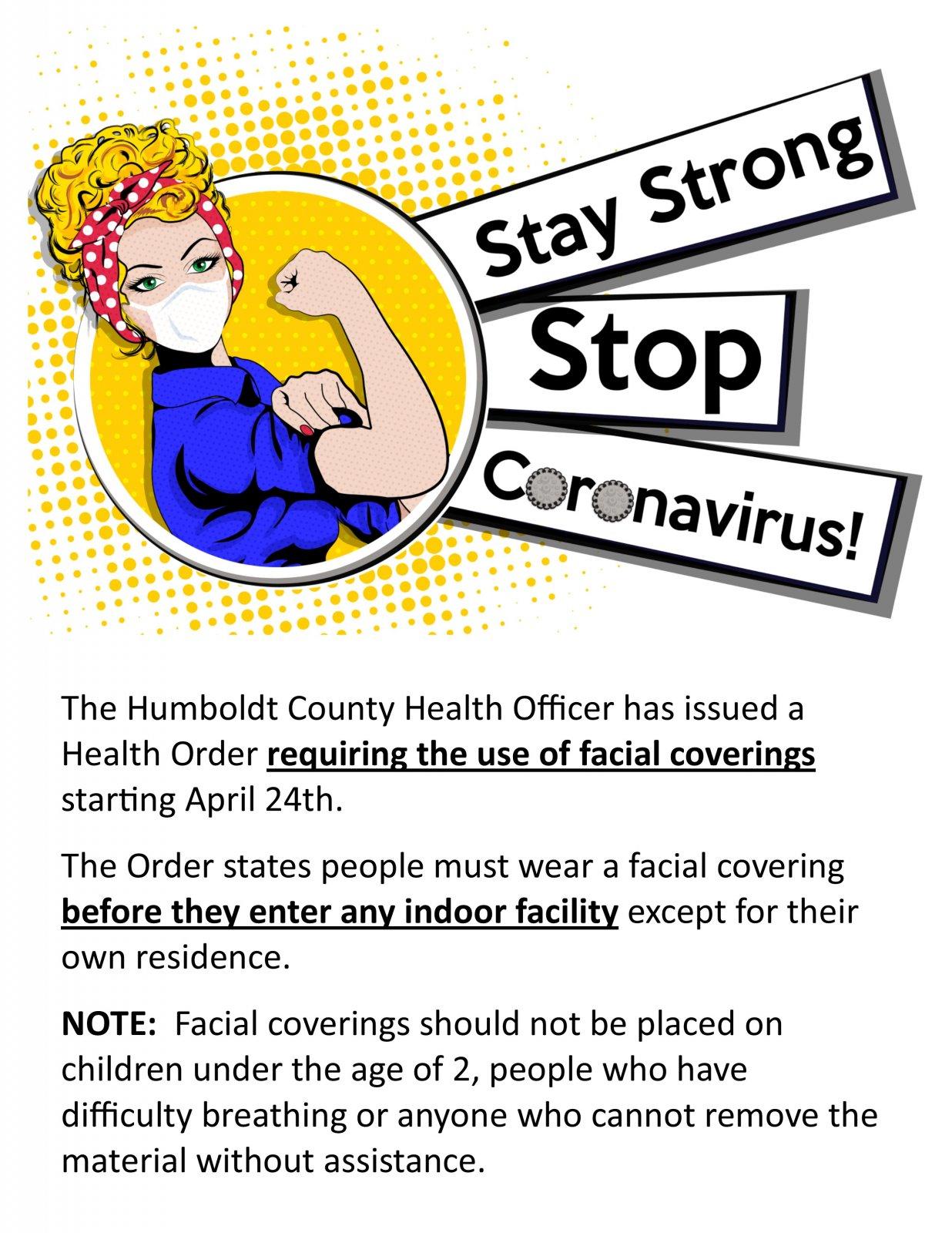 Face Mask Notice for Humboldt Businesses