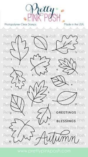 Falling Leaves Stamp Set