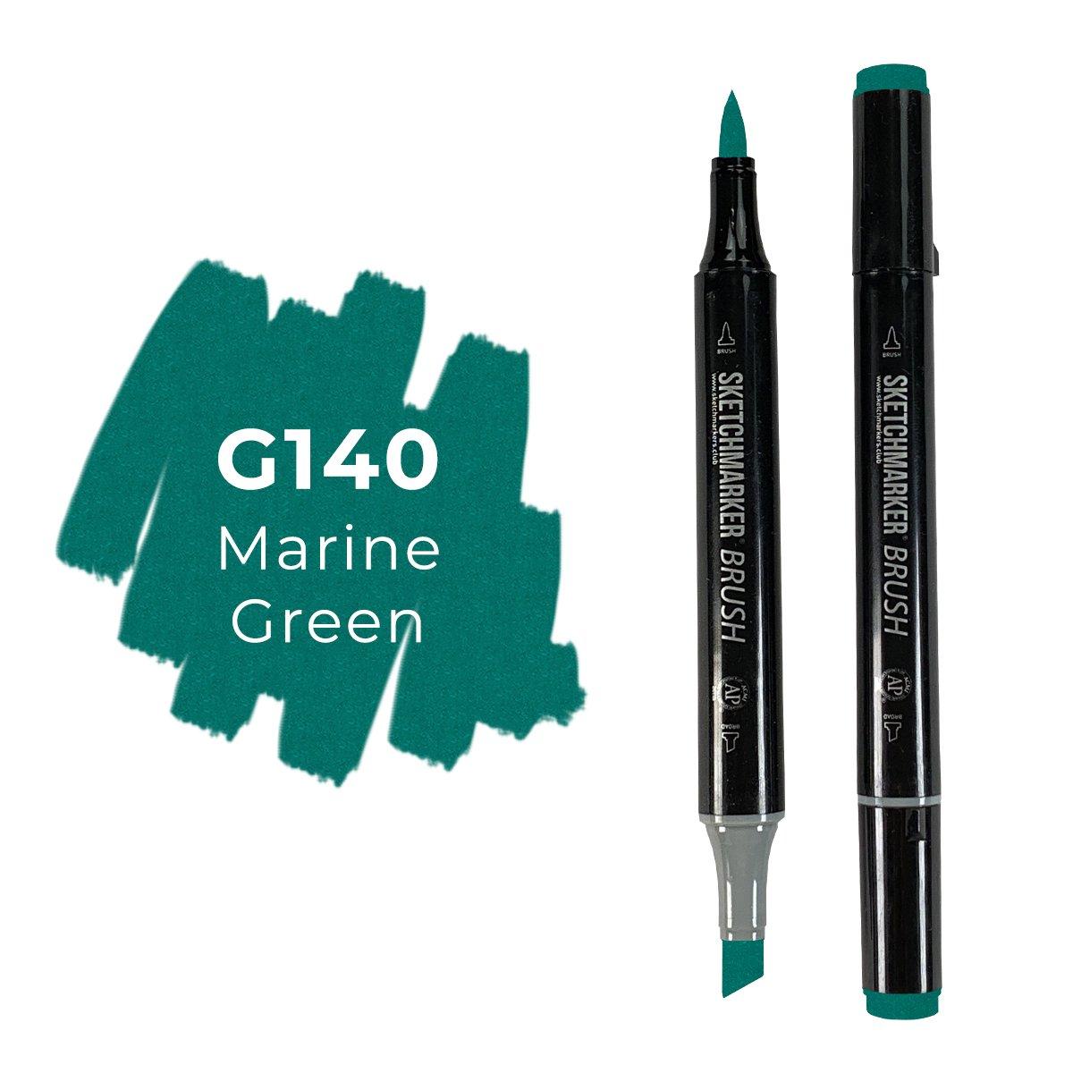 SKETCHMARKER BRUSH PRO Color: Marine Green