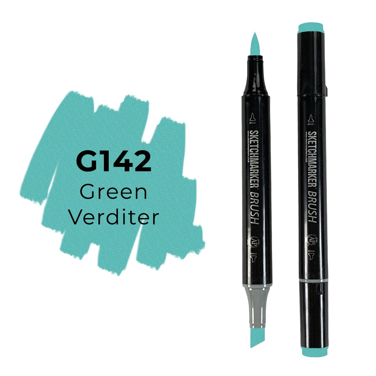 SKETCHMARKER BRUSH PRO Color: Green Verditer