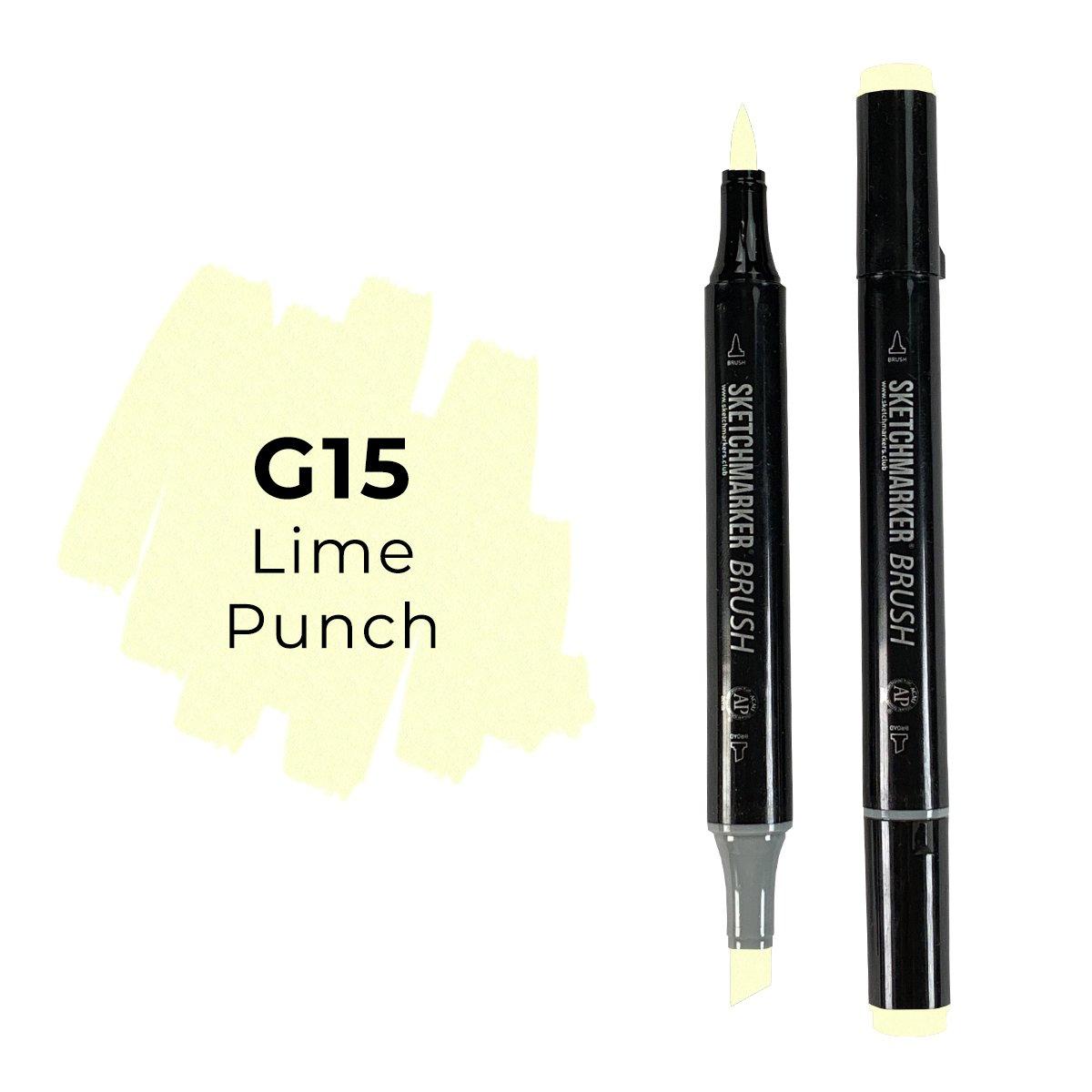 SKETCHMARKER BRUSH PRO Color: Lime Punch