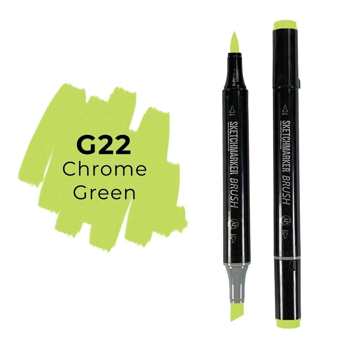 SKETCHMARKER BRUSH PRO Color: Chrome Green