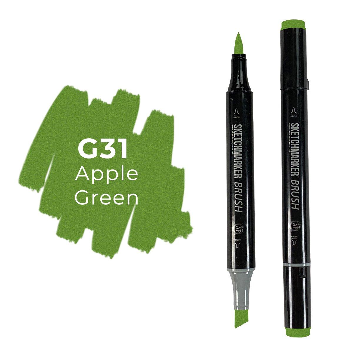 SKETCHMARKER BRUSH PRO Color: Apple Green