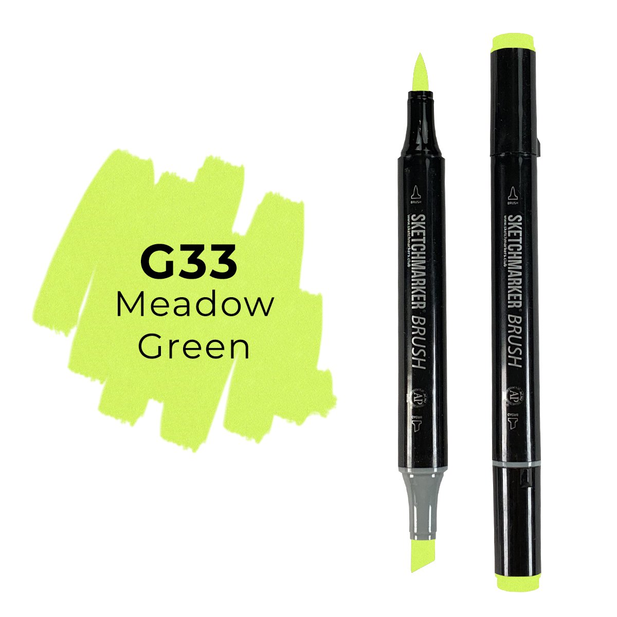 SKETCHMARKER BRUSH PRO Color: Meadow Green