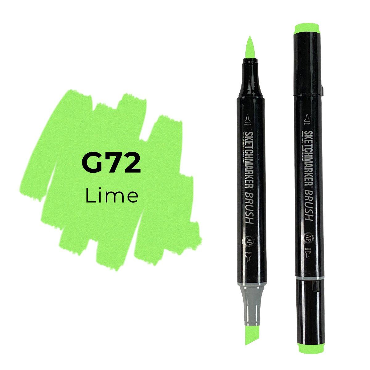 SKETCHMARKER BRUSH PRO Color: Lime