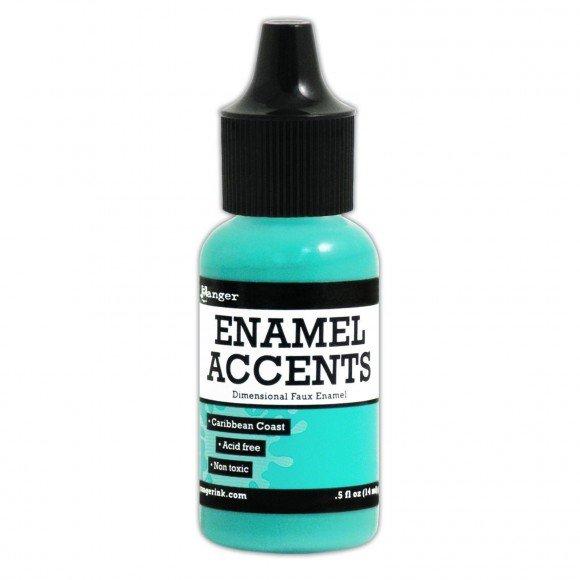 CARIBBEAN -ENAMEL ACCENTS
