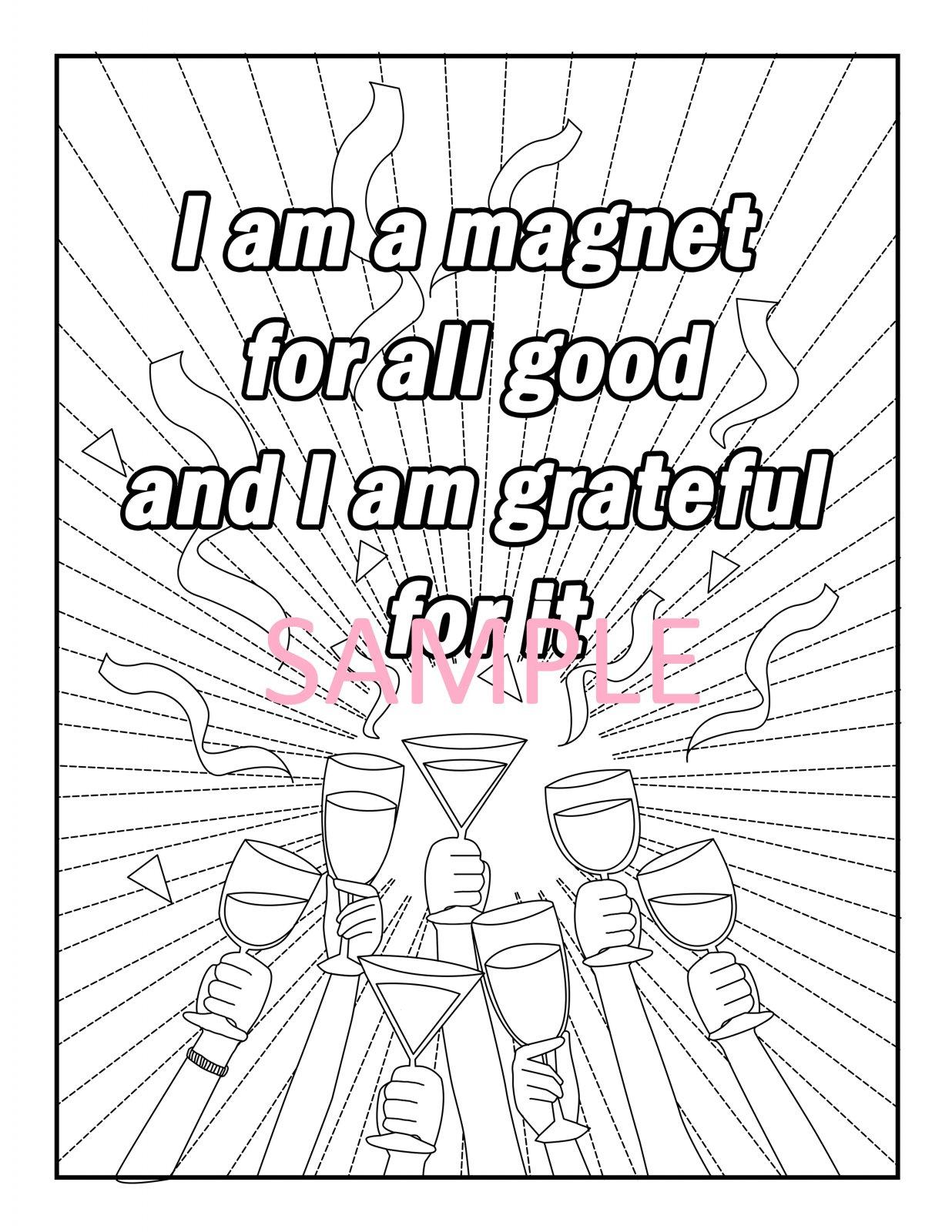 Gratitude Coloring Page 2
