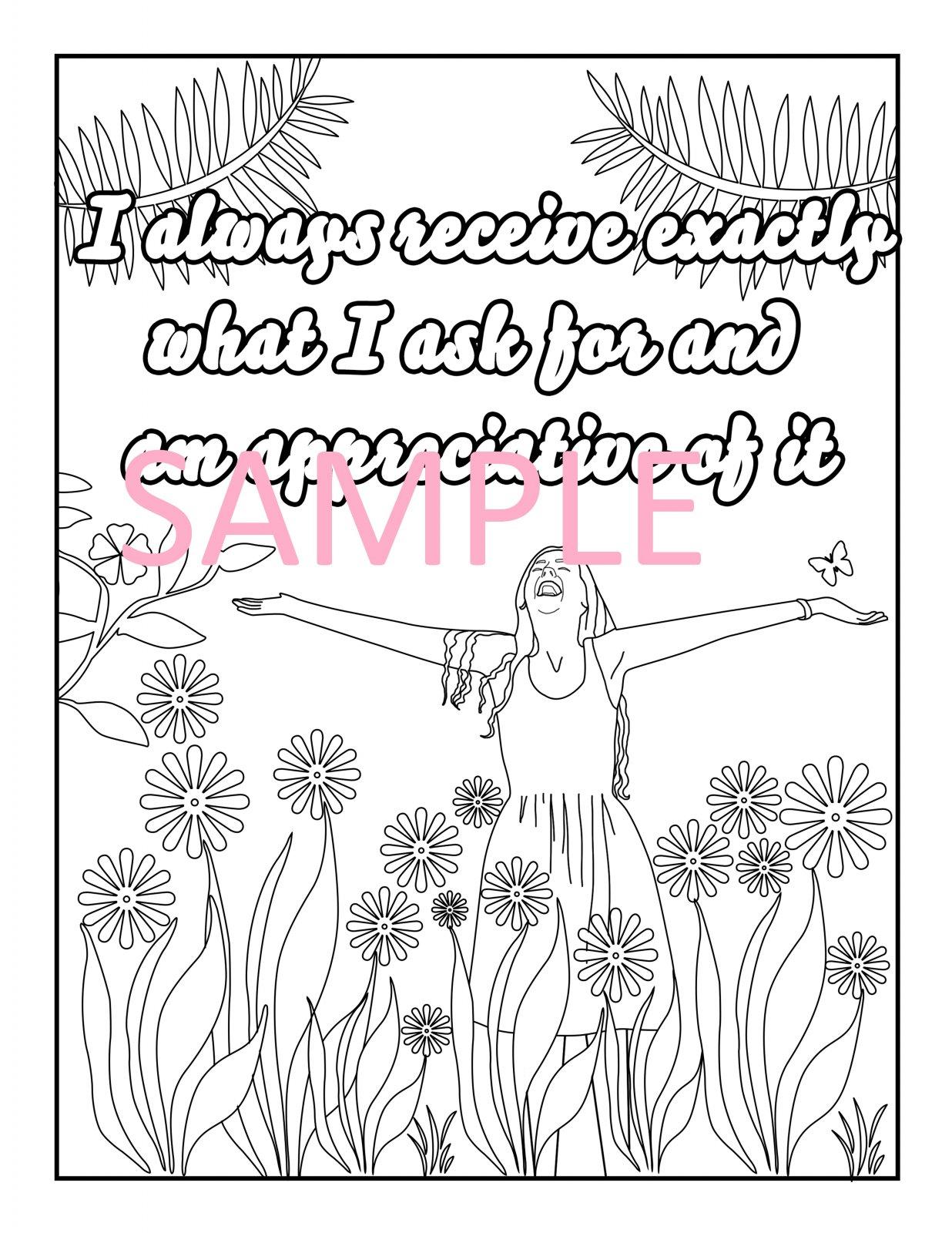 Gratitude Coloring Page 6
