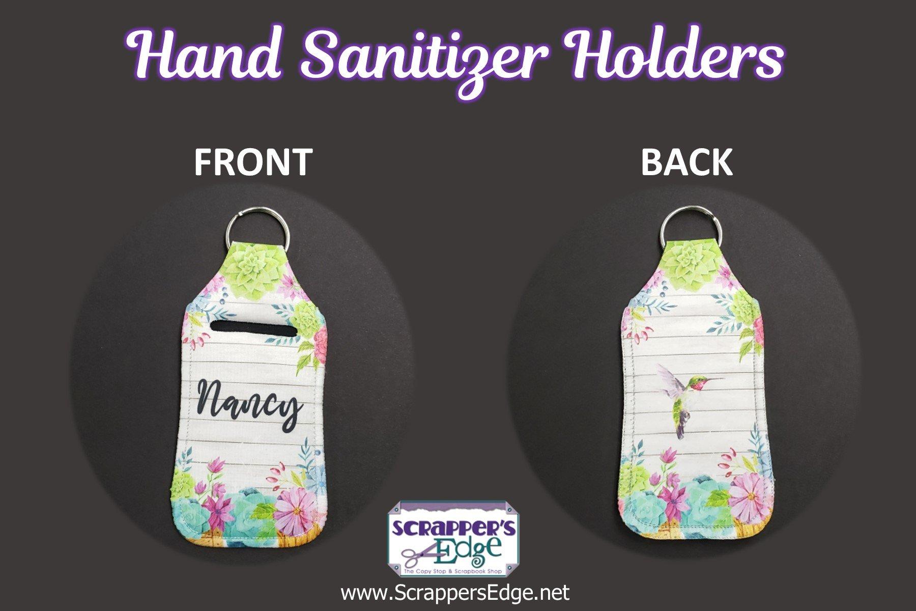 Personalized Hand Sanitizer Holder