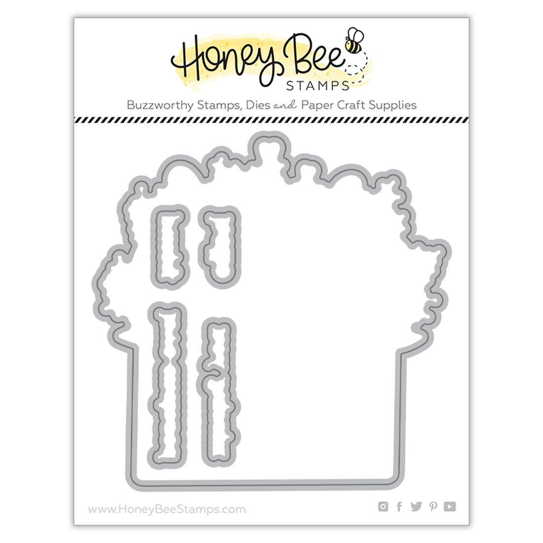 Honey Bee Stamps - PRETTY POSTAGE - Die Set