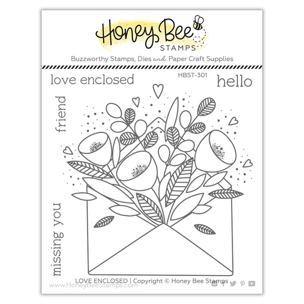 Honey Bee Stamps - PRETTY POSTAGE Stamp Set