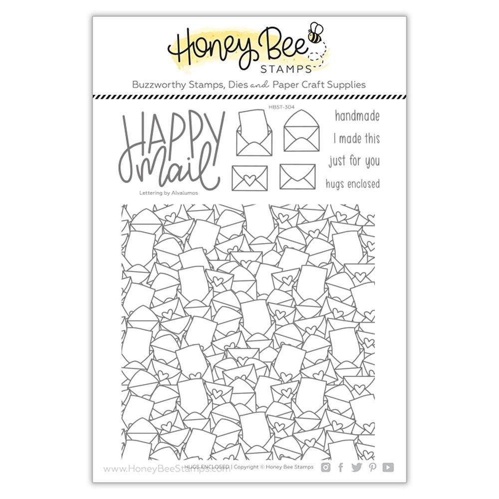 Honey Bee Stamps - HUGS ENCLOSED Stamp Set