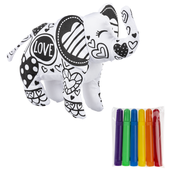 Mini Coloring Kit - Elephant