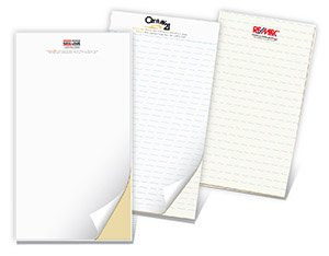 Note Pads 4.25x5.25 (4 up) Single-Sided