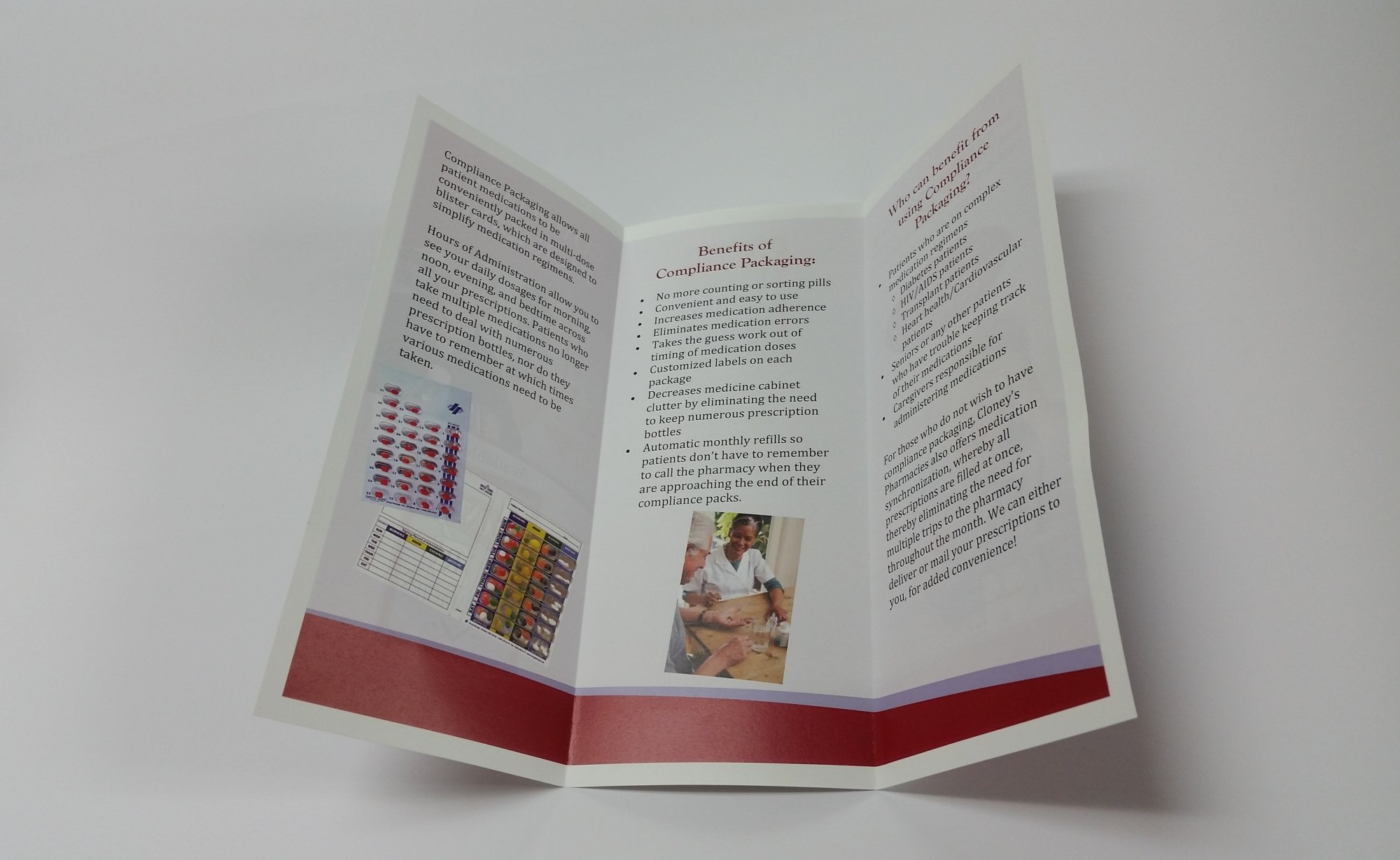Brochures Tri Fold 8.5x11 Brochure (no bleed) With Maching Folding