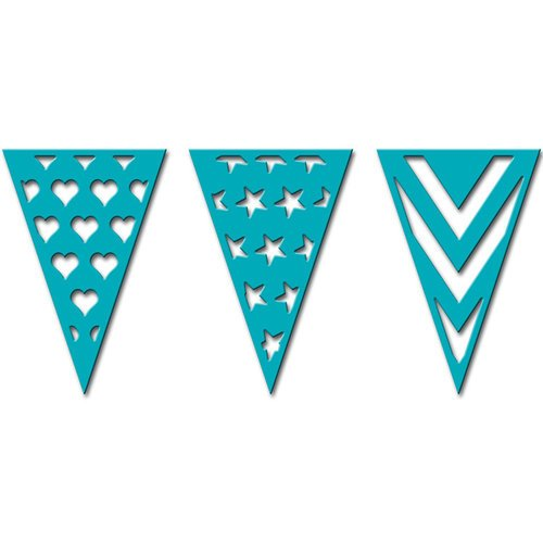 PENNANTS  -CELEBRATION DIE