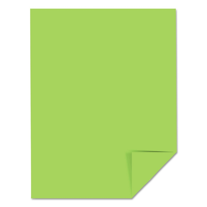 Cardstock 8.5x11 Martian Green