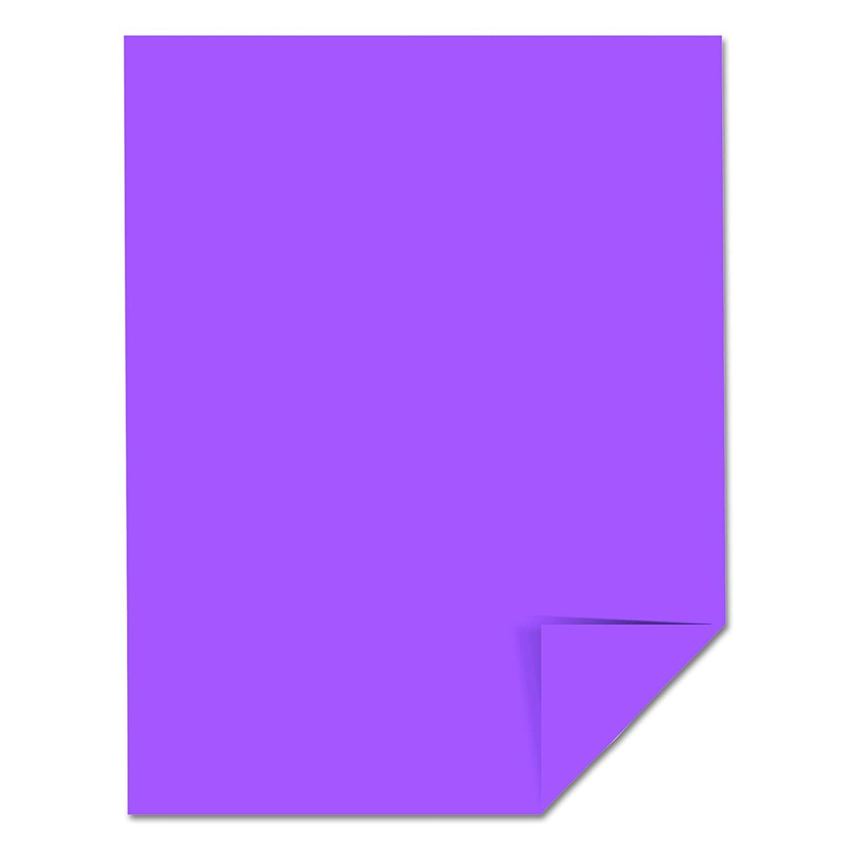 Cardstock 8.5x11 Planetary Purple