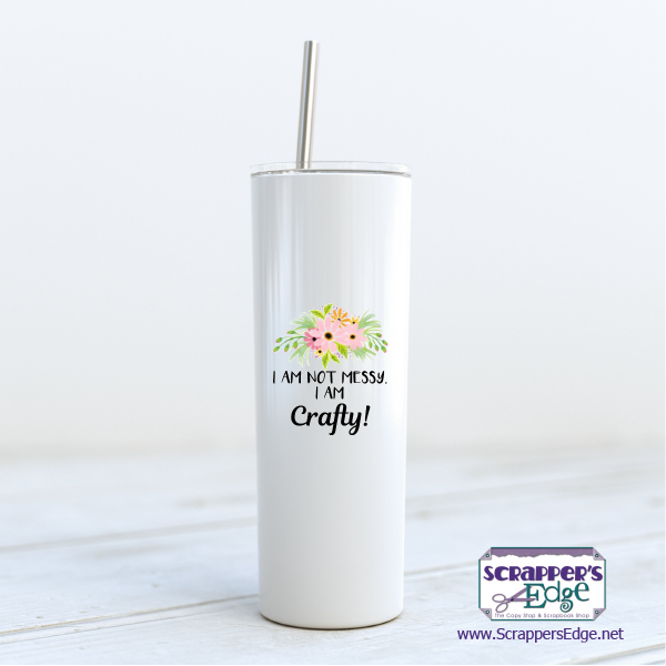 Tumbler, Tall 20 oz., Two-Sided - can be personalized!