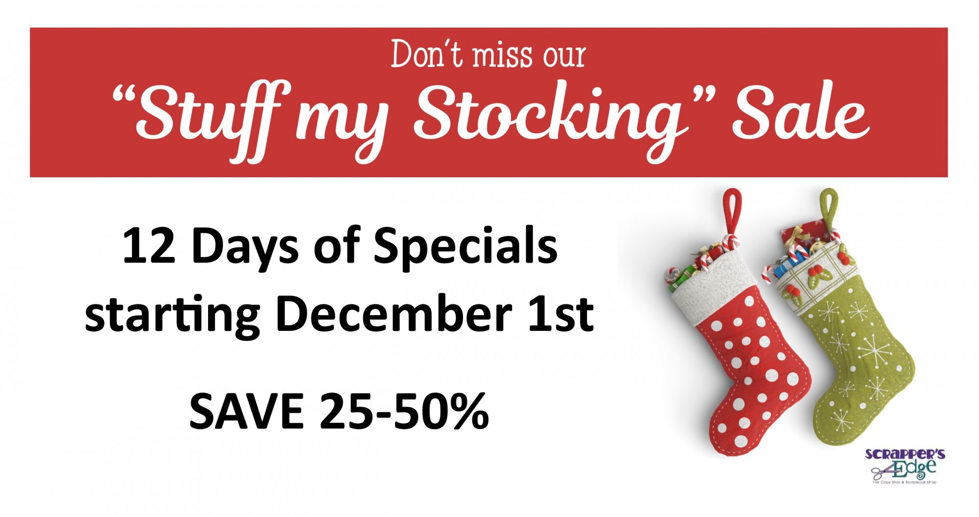 Stuff my Stocking SALE