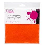 Neon Flock Sheets, Electro-Pop Orange Glow